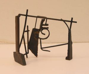 Paul Bacon sculptor Contemporary Abstract Steel sculpture - Untitled