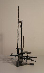 Paul Bacon sculptor contemporary steel sculpture - Junk