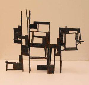 Paul Bacon sculptor contemporary sculpture - Long House