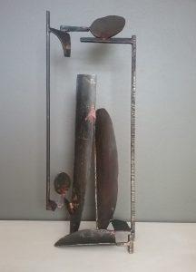 Bacon sculpture steel landscape