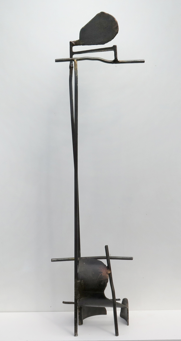 Paul Bacon Abstract Steel Sculpture - Bush Camp