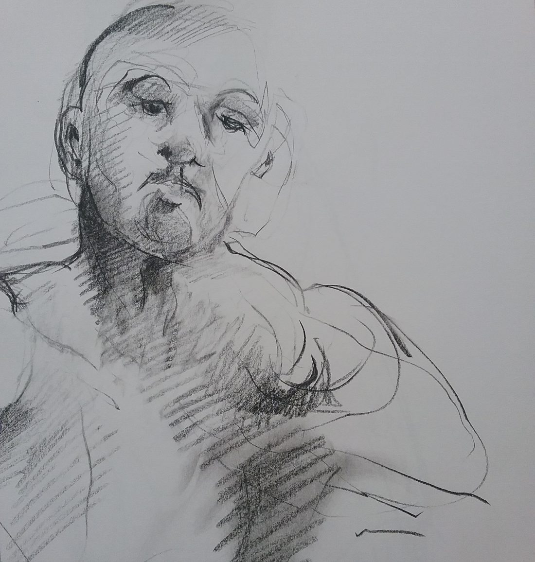Paul bacon figure drawing