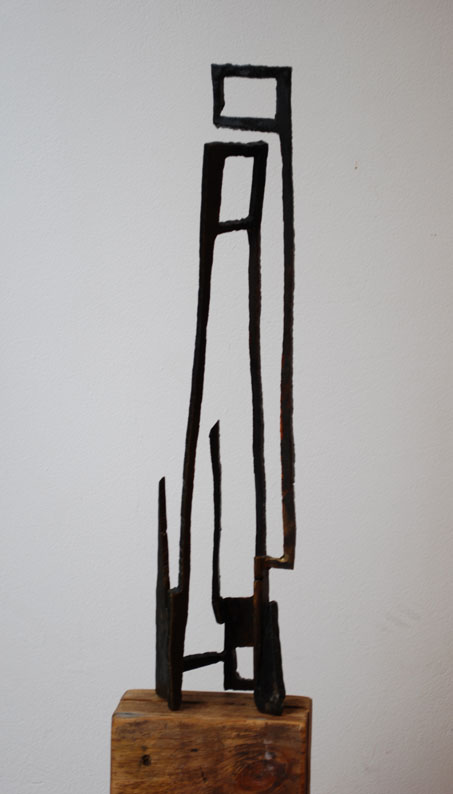 Paul Bacon Contemporary Sculpture 2008 Drawing in 3 rectangles