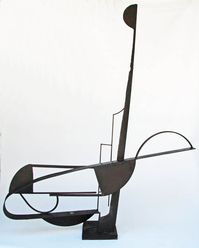 Paul Bacon sculptor Steel Sculpture 2009 avalon sea pool 2