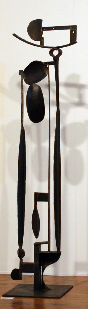 Paul Bacon Steel Sculpture 2014 Sun King No. 2