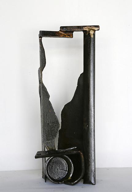 Paul Bacon Metal Art Sculpture Gully